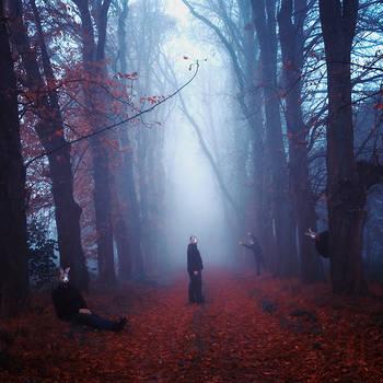Two steps from nightmare by artofinvi