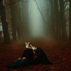 Hold me until morning comes by artofinvi