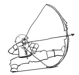 DnD doodles: Arrow by angel-poloo