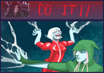 DnD doodles: Do it by angel-poloo