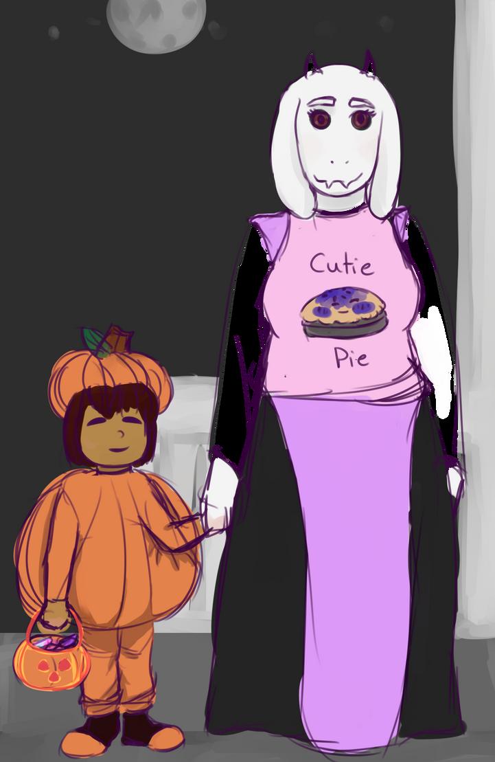 Undertale halloween by meowttw on DeviantArt