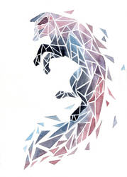 Geometric Fox by ThreeLeaves
