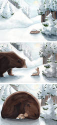 Be nice, Be a bear by ThreeLeaves