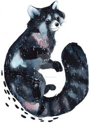 Galaxy Red Panda