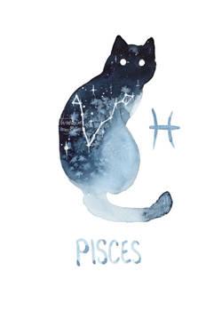 Zodiac Cat - Pisces
