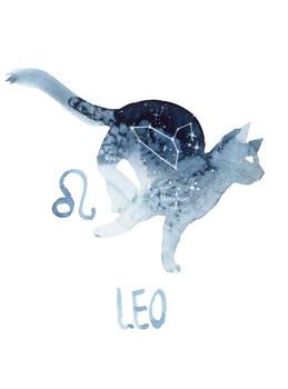 Zodiac Cat - Leo