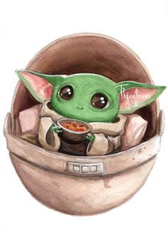 Baby Yoda Soup