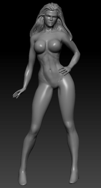 Female wip by chrisgabrish