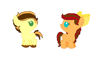 Applejack And Caramel Next Gen Kids By Flutterluver101 On