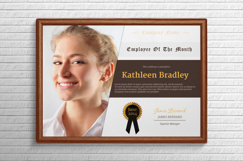 employee of the month template  Employee-of-the-month-template by bhertzel on DeviantArt