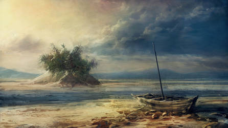The sea has gone by merl1ncz
