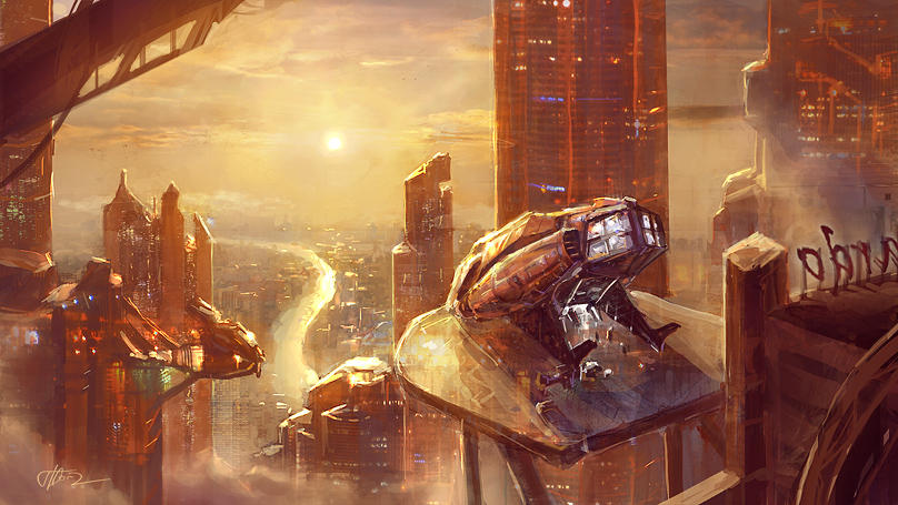 A near future 2 by merl1ncz