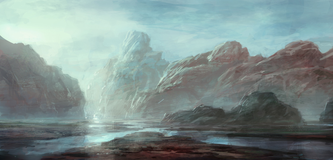 Mountains by merl1ncz