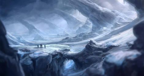 Frozen wasteland - revised