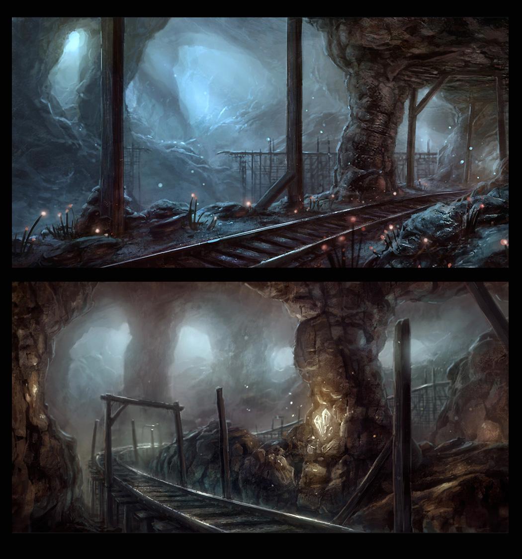 Underground mines by merl1ncz