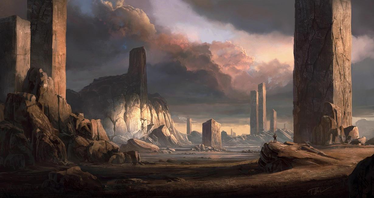 Pillars by merl1ncz