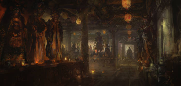 Dongyue Hall by merl1ncz
