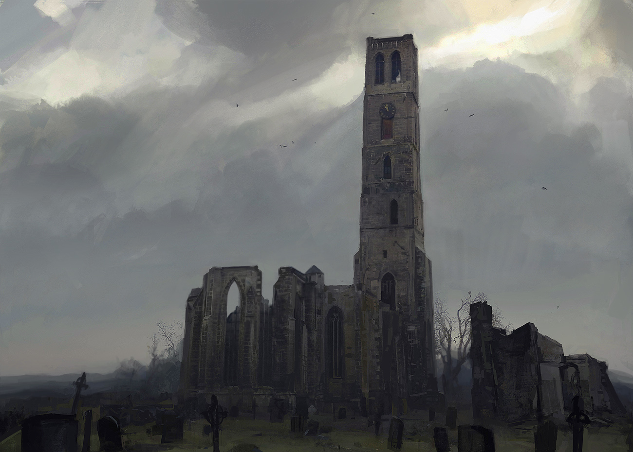 Desolated church
