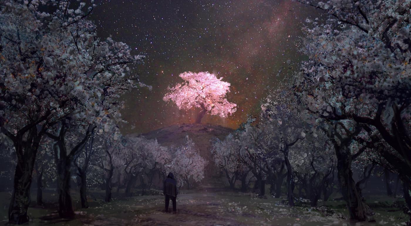 Sakura Garden By Merl1ncz On Deviantart