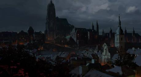 Prague around 1600 by merl1ncz