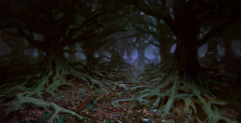 Enchated forest by merl1ncz