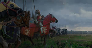 King John of Bohemia at the Battle of Crecy