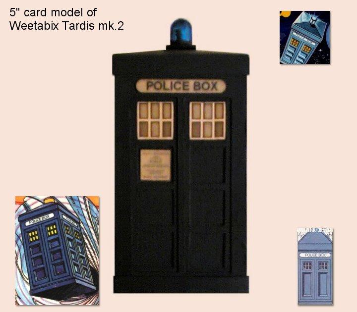 Weetabix TARDIS mk2 by gfoyle