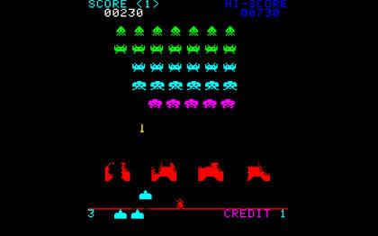 Play Original Space Invaders