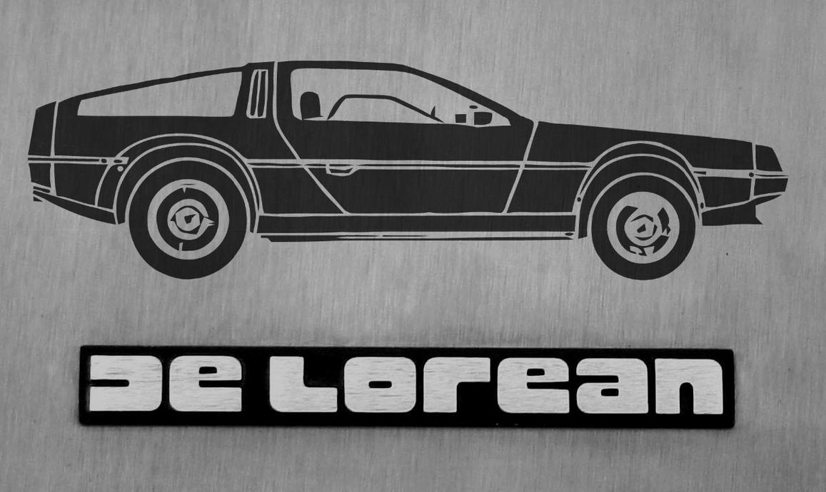 DeLorean by gfoyle