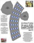Paper comic style Dalek pt2