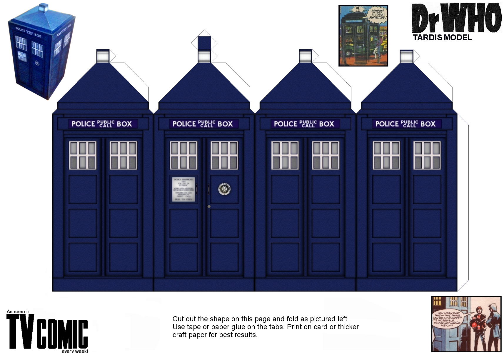 It's just a graphic of Comprehensive Doctor Who Paper