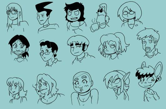 15 Random Characters