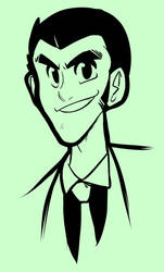 Lupin III by Crave-The-Bullet