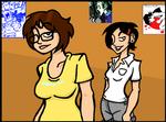 Faye and Dora