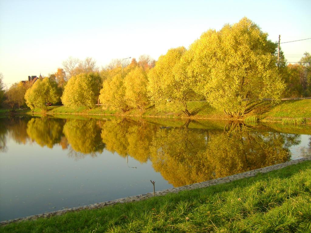 Autumn lakeside 1 by Panopticon-Stock