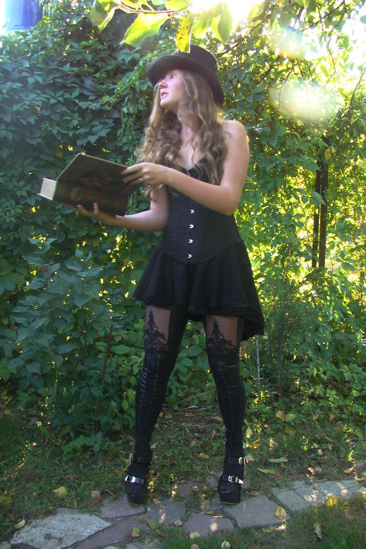 Lilia black wizard 44 by Panopticon-Stock