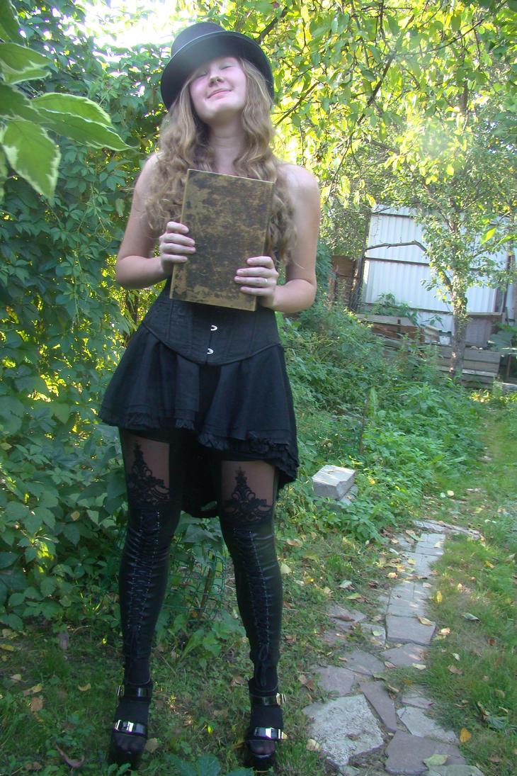Lilia black wizard 45 by Panopticon-Stock