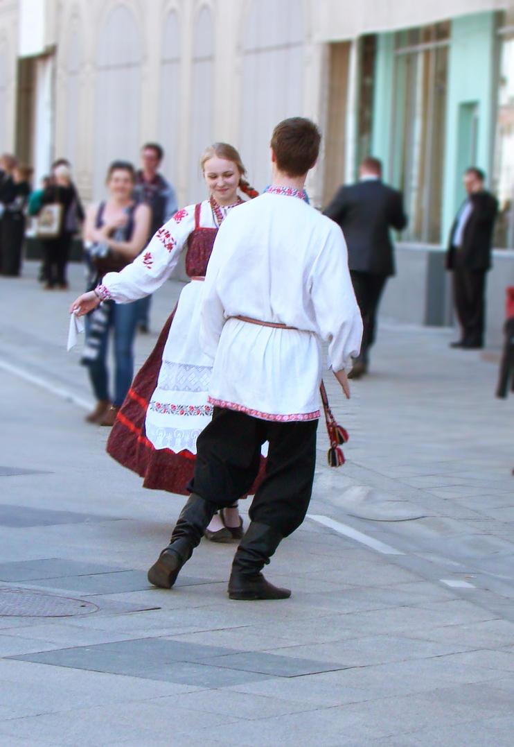 Russian native dance 1 by Panopticon-Stock