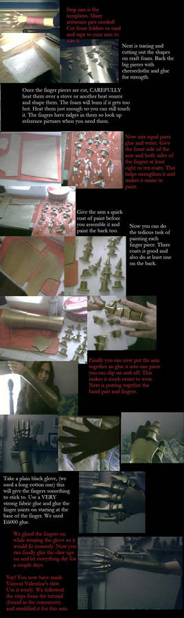 Vincent Valentine Arm Tutorial