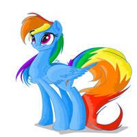 Rainbow Dash by ASimpleRarity