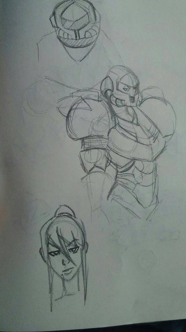 samus sketches 4 by haruukunn