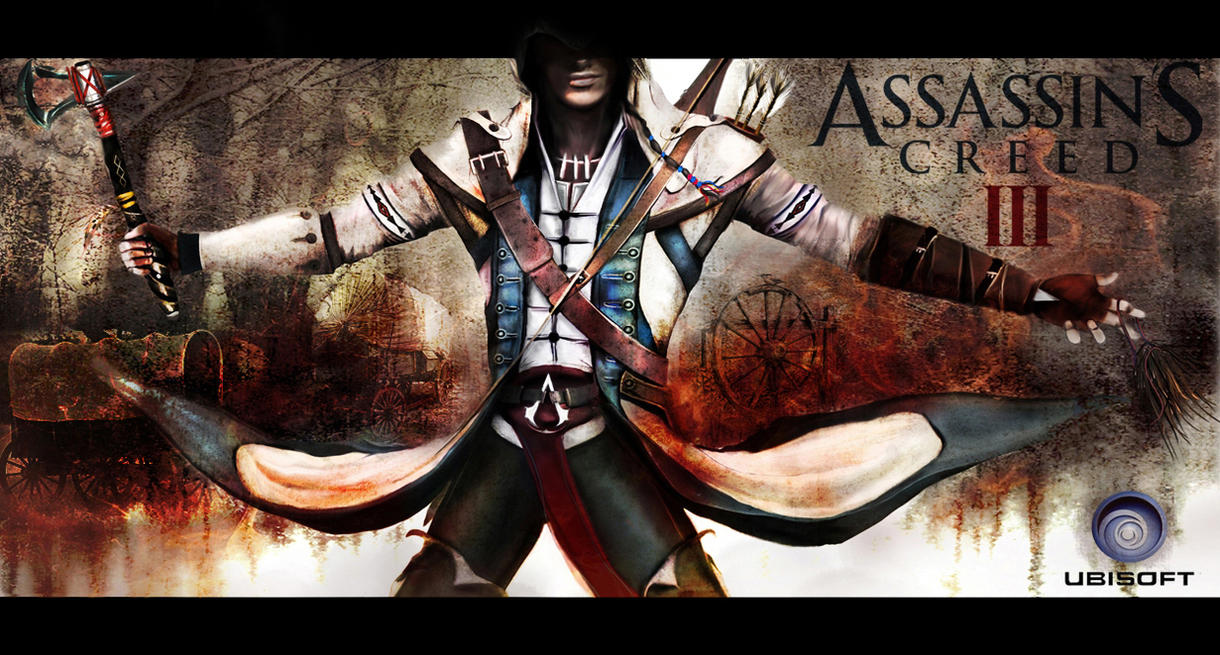 Connor Kenway by SavageAnemone