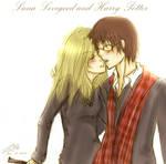 Luna Lovegood and Harry Potter