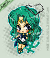 [OLD] Super Sailor Neptune Keychains by EmeraldAngelStudio
