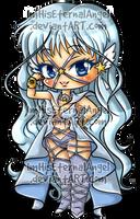 [OLD] Sailor Aluminum Seiren Keychains by EmeraldAngelStudio