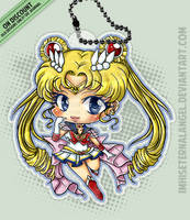 [OLD] Super Sailor Moon Keychains by EmeraldAngelStudio