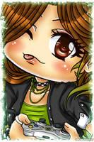 [Custom] Chibi Portrait Commission by EmeraldAngelStudio
