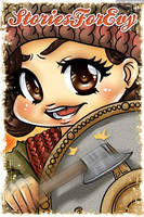 Chibi Portrait Commission by EmeraldAngelStudio