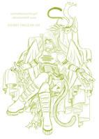 WIP OC by EmeraldAngelStudio