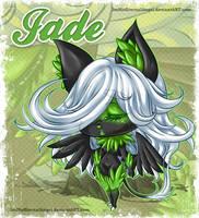 Chibi Jade by EmeraldAngelStudio